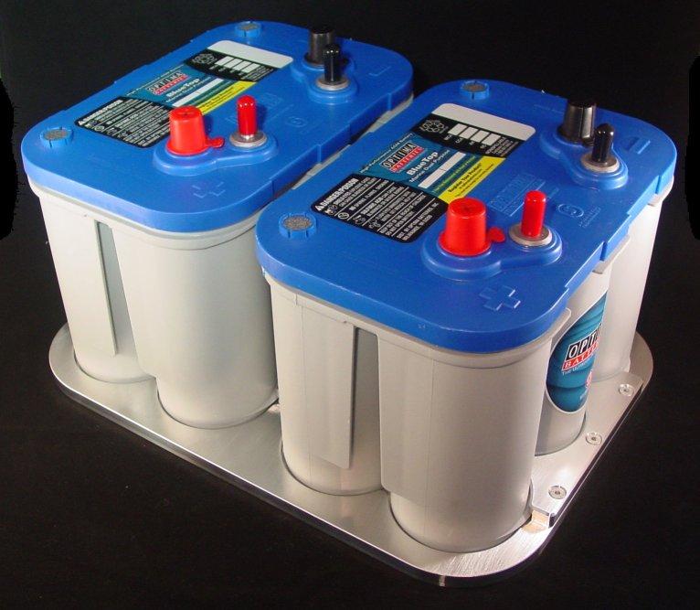 Aluminum Battery Tray Dual 34 34 78 78 Optima